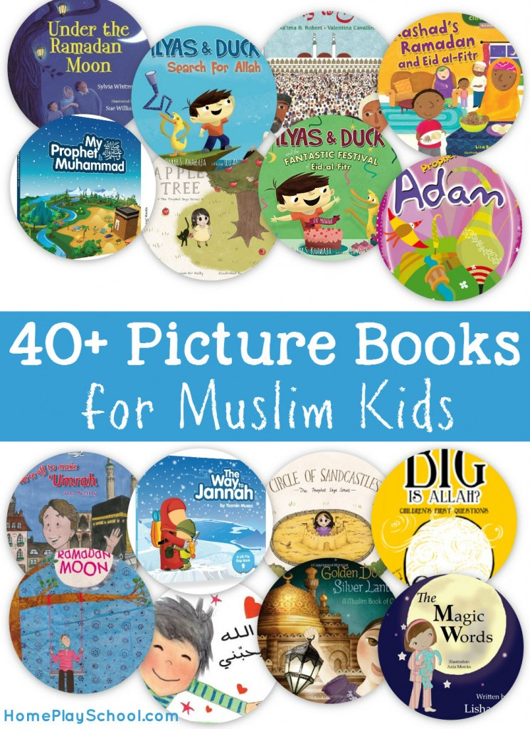 A Compilation of Picture Books for Muslim Kids by HomePlaySchool